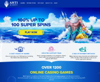 Sign up at AHTI Games Casino