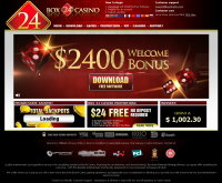 Sign up at Box24 Casino